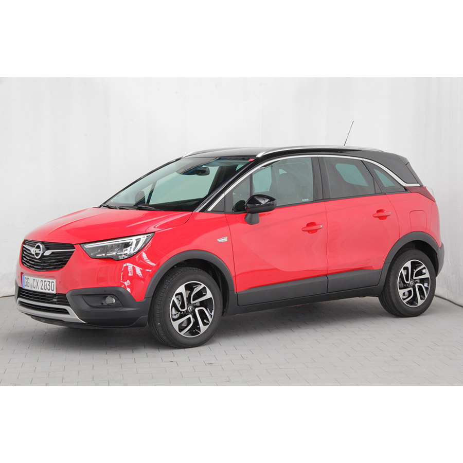 test opel crossland x 1 2 turbo 130 ch comparatif suv. Black Bedroom Furniture Sets. Home Design Ideas