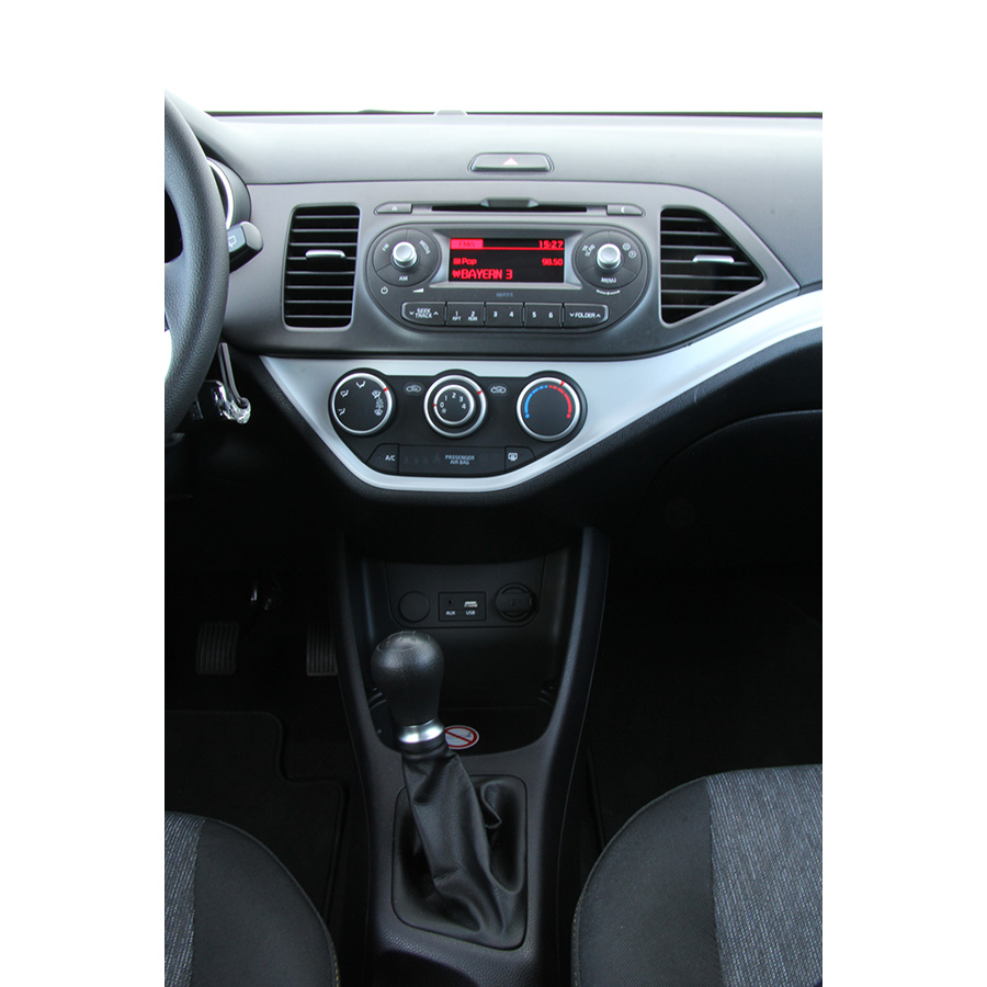 test kia picanto 1 0l 66 ch 5 portes essai voiture. Black Bedroom Furniture Sets. Home Design Ideas