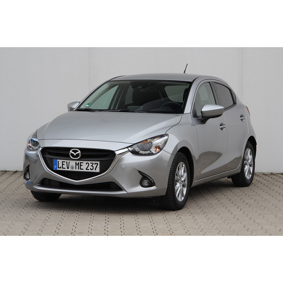 test mazda 2 1 5l skyactivg 90 essai voiture citadine ufc que choisir. Black Bedroom Furniture Sets. Home Design Ideas