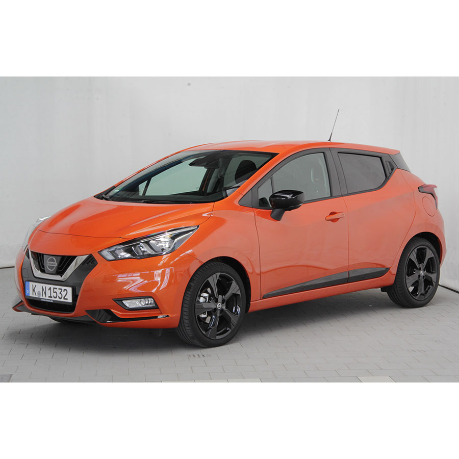 test nissan micra ig t 90 essai voiture citadine ufc que choisir. Black Bedroom Furniture Sets. Home Design Ideas