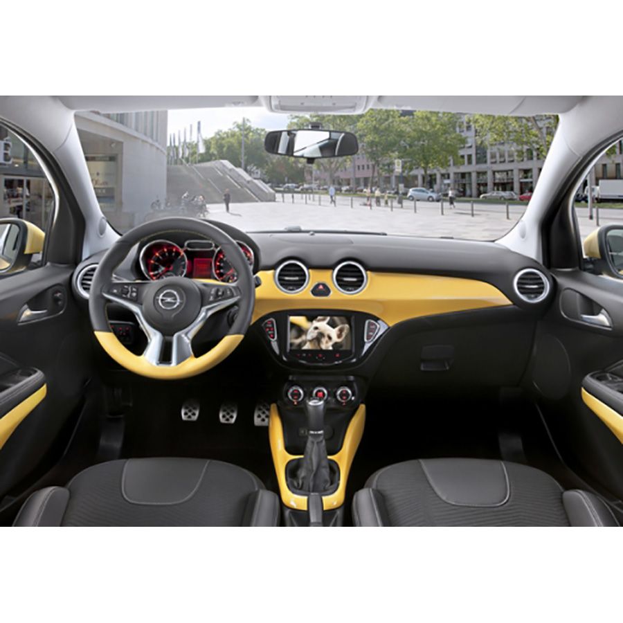 test opel adam 1 4 twinport 87 start stop essai voiture citadine ufc que choisir. Black Bedroom Furniture Sets. Home Design Ideas