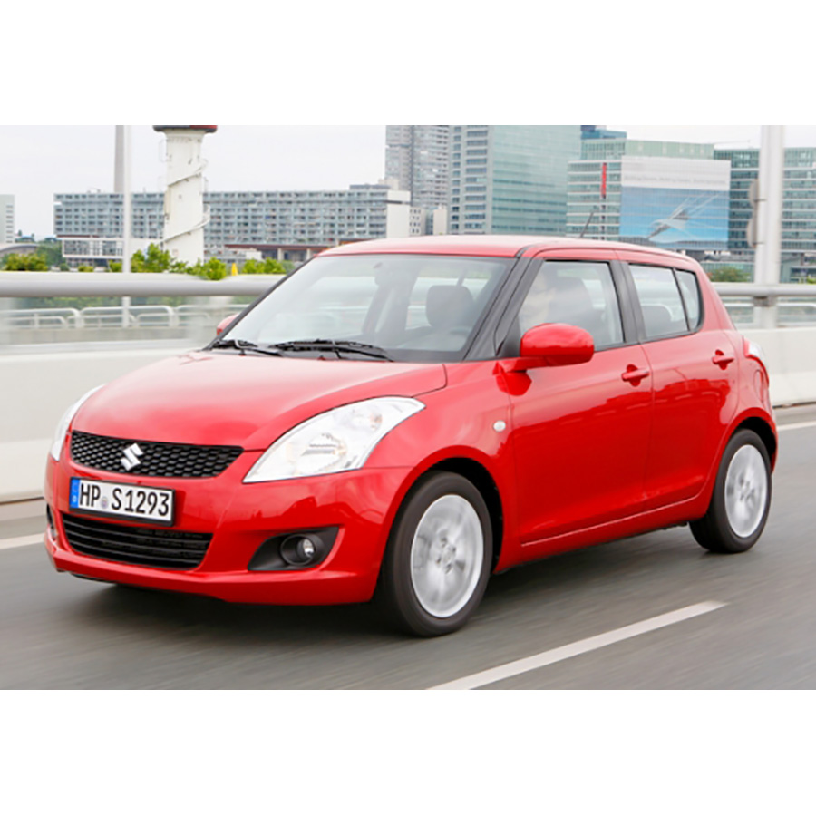 test suzuki swift iii 1 2 vvt a essai voiture citadine. Black Bedroom Furniture Sets. Home Design Ideas