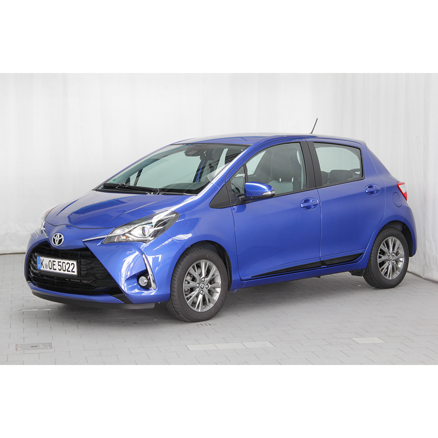 test toyota yaris 110 vvt i essai voiture citadine ufc. Black Bedroom Furniture Sets. Home Design Ideas