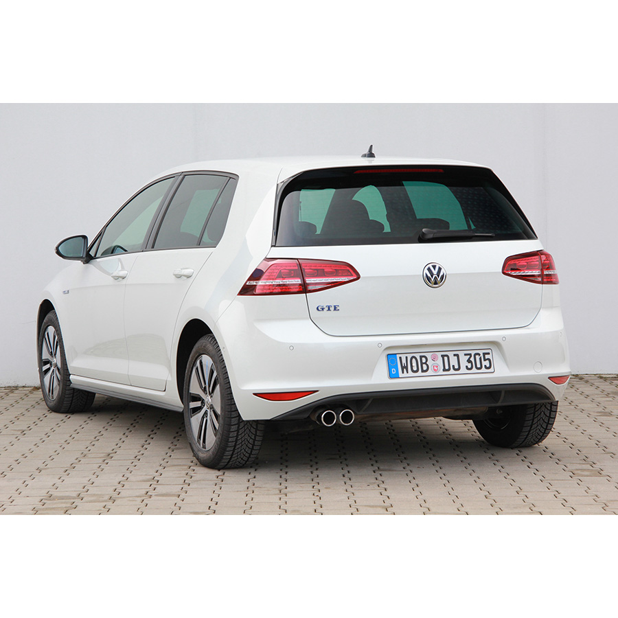 test volkswagen golf 1 4 tsi hybride rechargeable gte dsg6. Black Bedroom Furniture Sets. Home Design Ideas