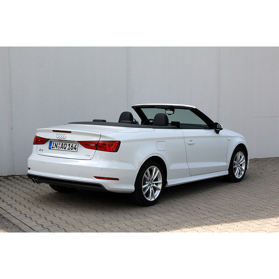 test audi a3 cabriolet 2 0 tdi essai voiture coup. Black Bedroom Furniture Sets. Home Design Ideas