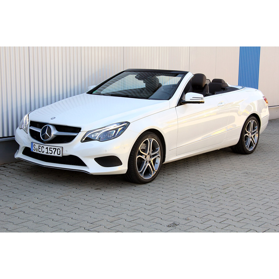 test mercedes classe e cabriolet 400 a essai voiture coup cabriolet ufc que choisir. Black Bedroom Furniture Sets. Home Design Ideas