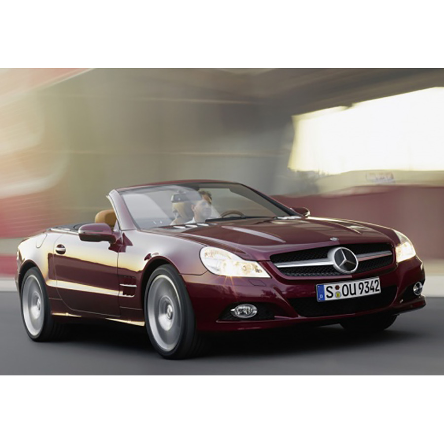 test mercedes classe sl 350 blueefficiency a essai voiture coup cabriolet ufc que choisir. Black Bedroom Furniture Sets. Home Design Ideas