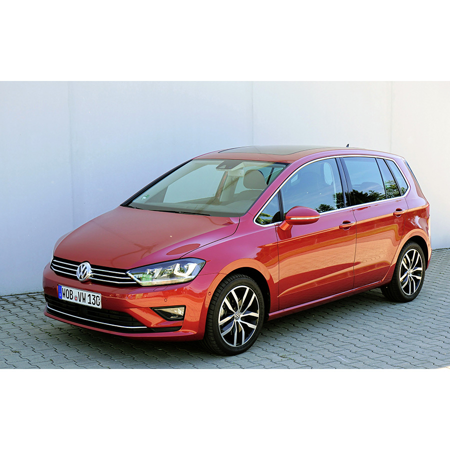 test volkswagen golf sportsvan 1 4 tsi 125 bmt essai. Black Bedroom Furniture Sets. Home Design Ideas